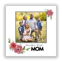 Best Mom 8x8-Flat Metal