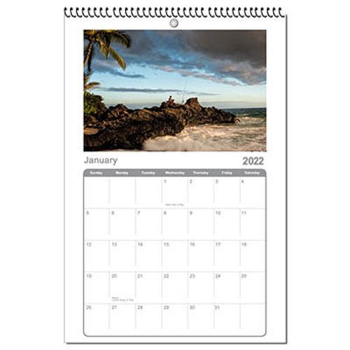Calendar 12x18 2022
