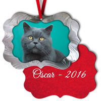 Elegance Metal Ornament - 2S C