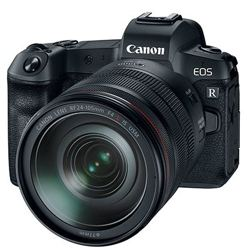 Canon-EOS R Mirrorless Camera with RF 24-105mm F4 L IS USM Lens-Digital Cameras