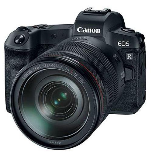 Canon-EOS R Mirrorless Camera with RF 24-105mm F4 L IS USM Lens-Digital Cameras