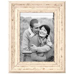 Malden-5x7 Off White Distressed-Photo Frames