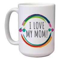 15 oz Ceramic Mom Mug (K)