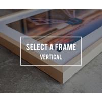 18x12 Glass & Mat Print
