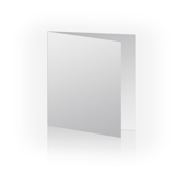 5x5 Horizontal Folded Card