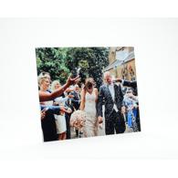 12x8 Gloss White Metal Print
