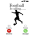 "Football Is Calling"" - White Mug - Add your own text"