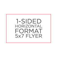 "Standard 5"" x 7"" Flyer"