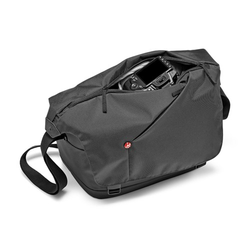 Manfrotto-NX Camera Messenger I Grey for CSC #MB NX-M-IGY-Sacs et Étuis