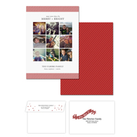 Merry Days<br>5x7 Double Sided<br>Envelope