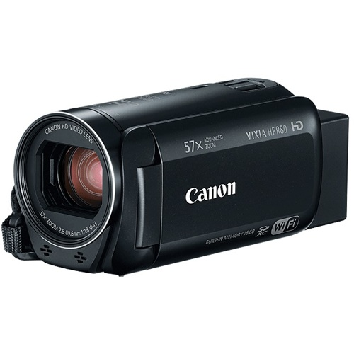 Canon-Vixia HF R80-Video Cameras