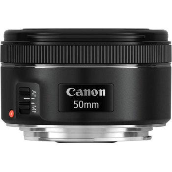 Canon-EF 50mm f1.8 STM-Lenses - SLR & Compact System