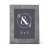 5x7 Gray Granite
