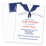 Sailor Baby Shower