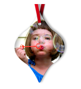 Tapered Metal Ornament - 1S