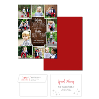 Christmas Celebration<br>5x7 Double Sided<br>Envelope