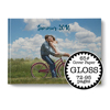 11 x 8.5 Hard Cover Photobook / 65# Cover Paper (72-95 Pages)