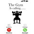 "The Gym Is Calling"" - White Mug - Add your own text"
