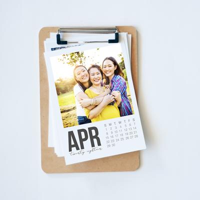 Clip It Simple Calendar 2019