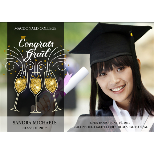Grad Toast - 1 Sided