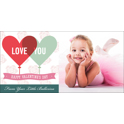 4x8 Premium Greeting Card (Val-C4)