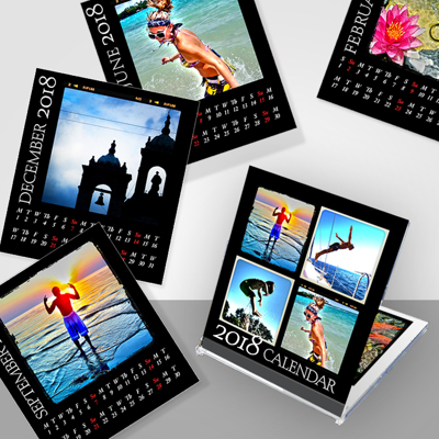 Jewel Case Instagram Calendar - Black