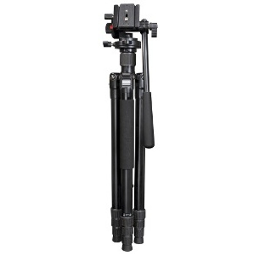 Optex-Traveller Tripod with Fluid Head-Tripods & Monopods