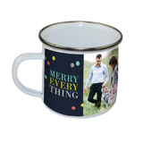 "10 oz Stainless Steel ""Merry Everything"" Camper Mug PG-18-208"