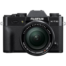Fujifilm-X-T10 Compact System Camera with XF 18-55mm F2.8-4 R LM OIS Lens-Digital Cameras