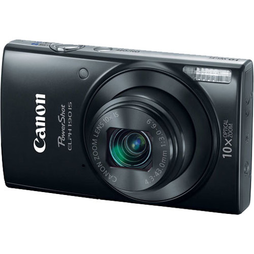 Canon-PowerShot ELPH 190 IS Digital Camera-Digital Cameras