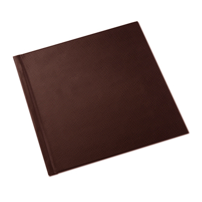 12 x 12 Brown Leatherette