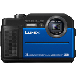 Panasonic-LUMIX TS7 Waterproof Tough Camera-Digital Cameras
