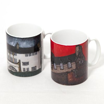 2 Personalised Mugs up to 2 images in batch
