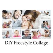4x6 Horizontal Freestyle Collage