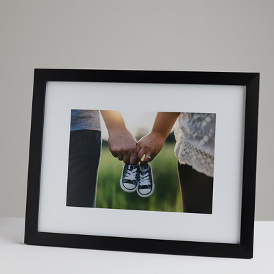 330x250mm Print in a 20mm Black Frame with a 150x225mm image (50mm white space on all sides)
