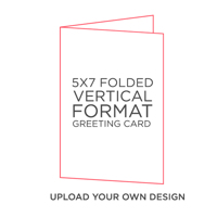 CREATE-A-CARD: 10PK 5X7 FOLDED CARDS