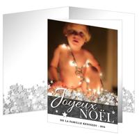 "Carte Joyeux Noël (5""x7"") - Vertical"