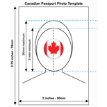 Canadian Passport Photo Templates