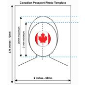 Canadian Passport Photo Templates
