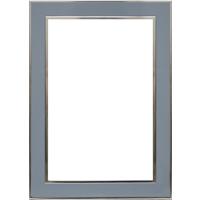 4x6 Vertical Blue Metal Frame