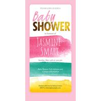 Baby Shower Card Q