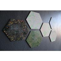 Decor Geometric - Hexagon - Set of 6