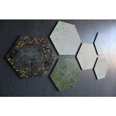 Decor Geometric - Hexagon - Set of 6