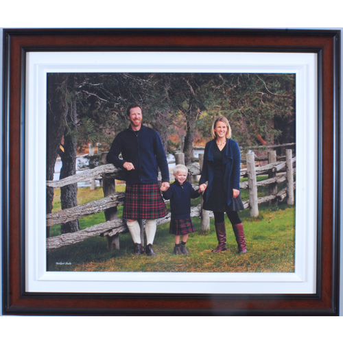 18 x 12 frame with print
