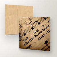 8x8 Maple Wood Print (Square)