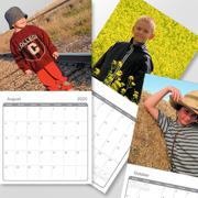 12 x 12 (U.S.) - 2020 Wall Calendar - 1 picture per page