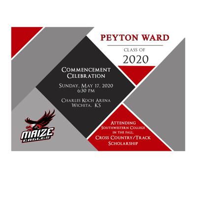 Graduation Announcement (20-001BRED)