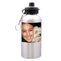 Sport water bottle. Free layout. 600ml.