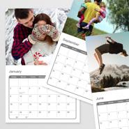 8.5 x 11 Photo Calendar, 12 Month - 2022