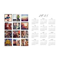 2018 - 12x18 Calendar
